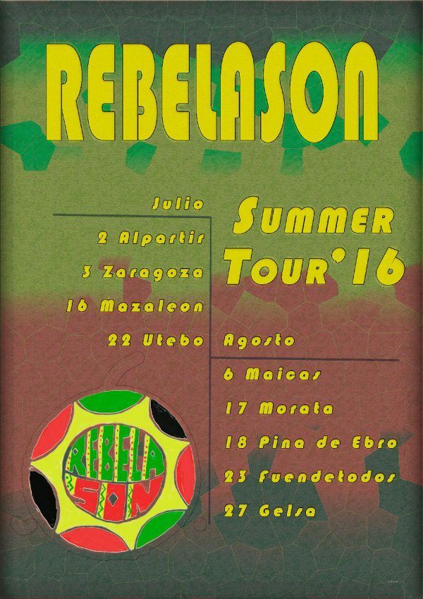 cartel Tour Rebelason 2016