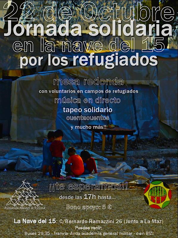 foto Jornada Solidaria por los refugiados